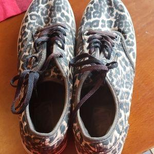 Van's Cheetah shoes
